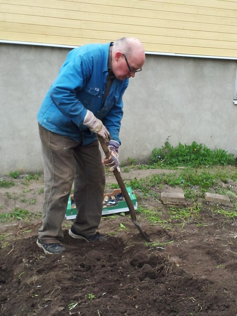 Janne grävare