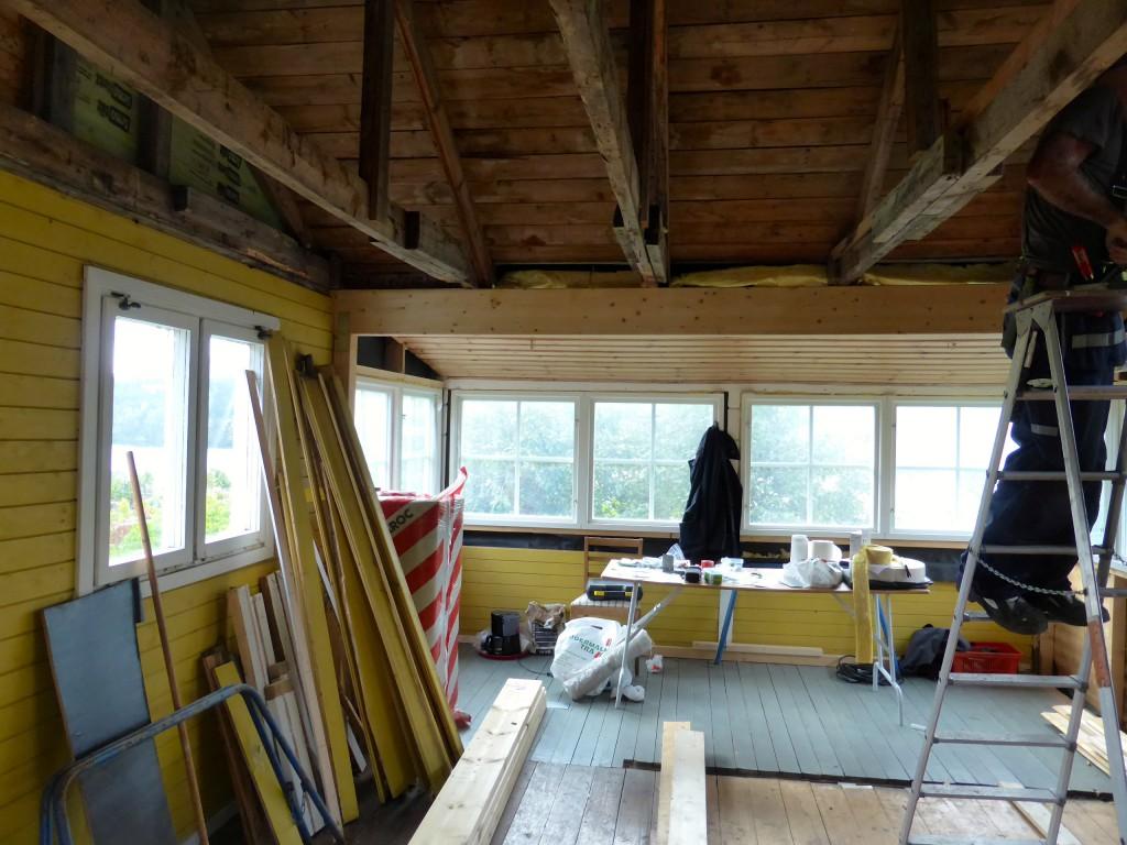 Nya fönstren från insidan
